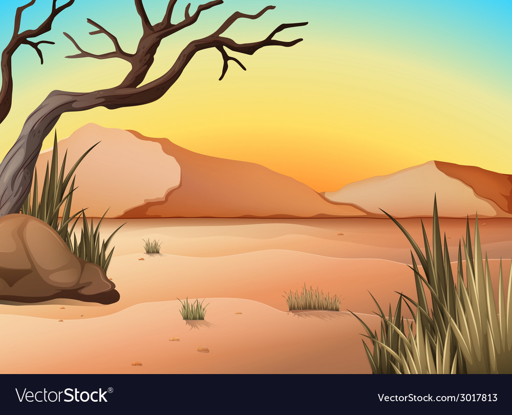 Desert vector | Price: 3 Credit (USD $3)