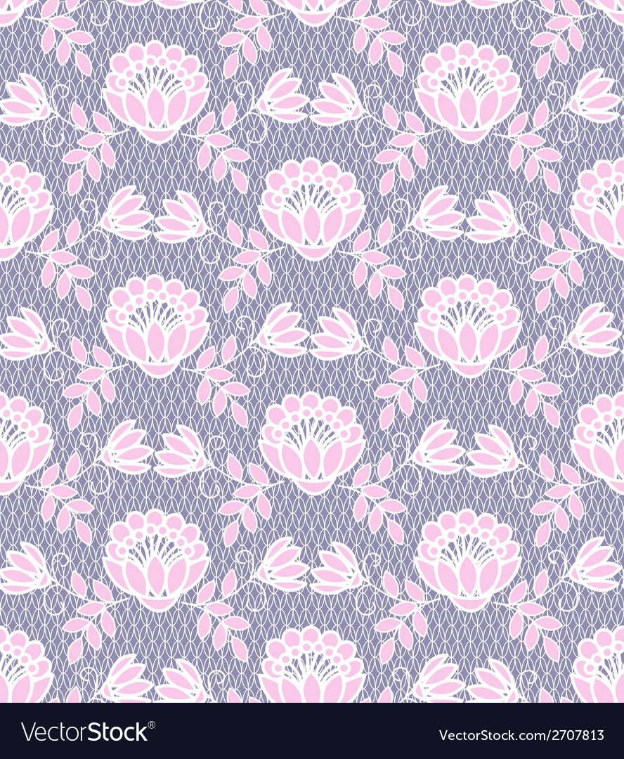 Floral lace pattern vector | Price: 1 Credit (USD $1)