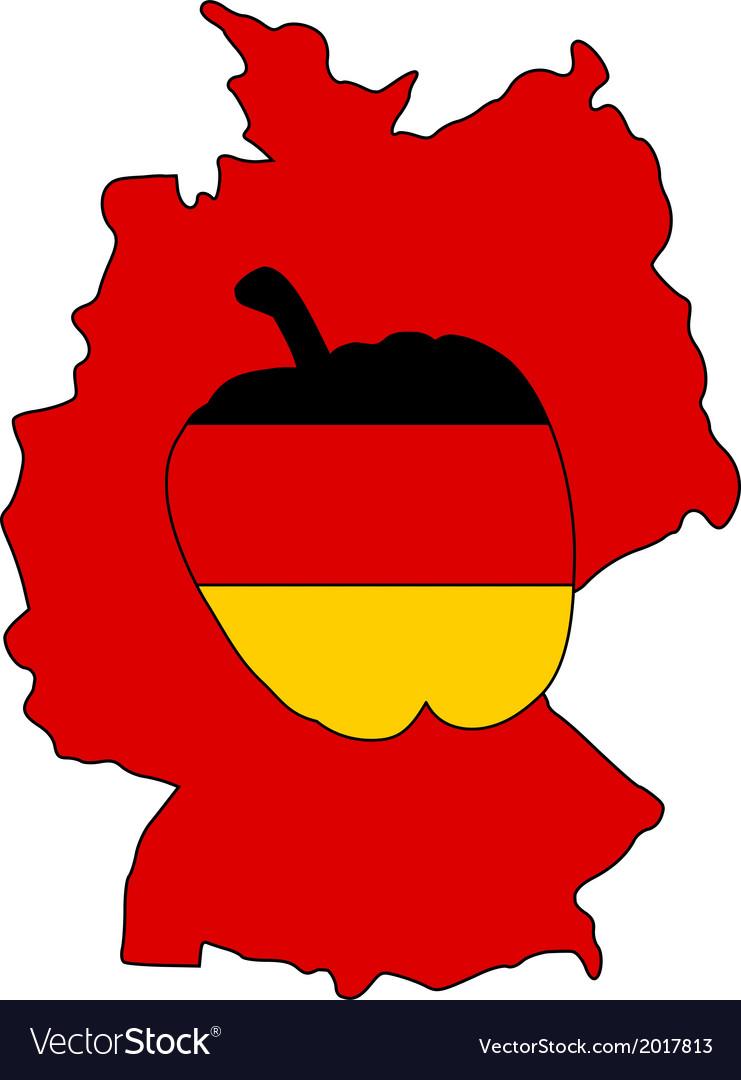 German capsicum vector | Price: 1 Credit (USD $1)