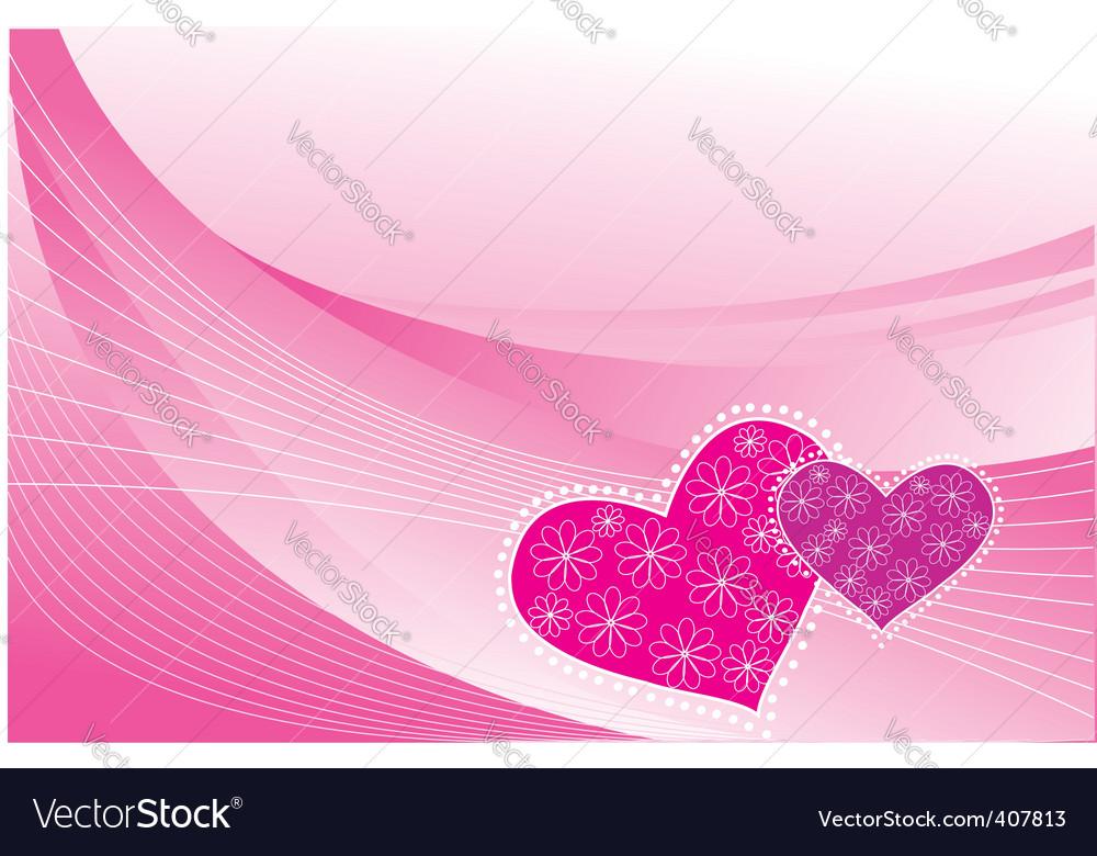 Heart postcards vector | Price: 1 Credit (USD $1)