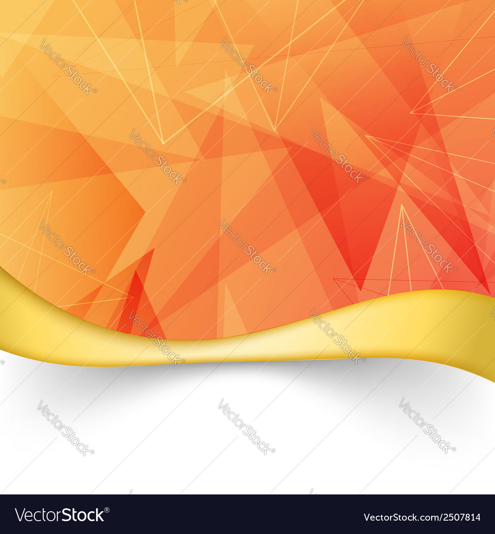 Bright orange folder with border template vector | Price: 1 Credit (USD $1)