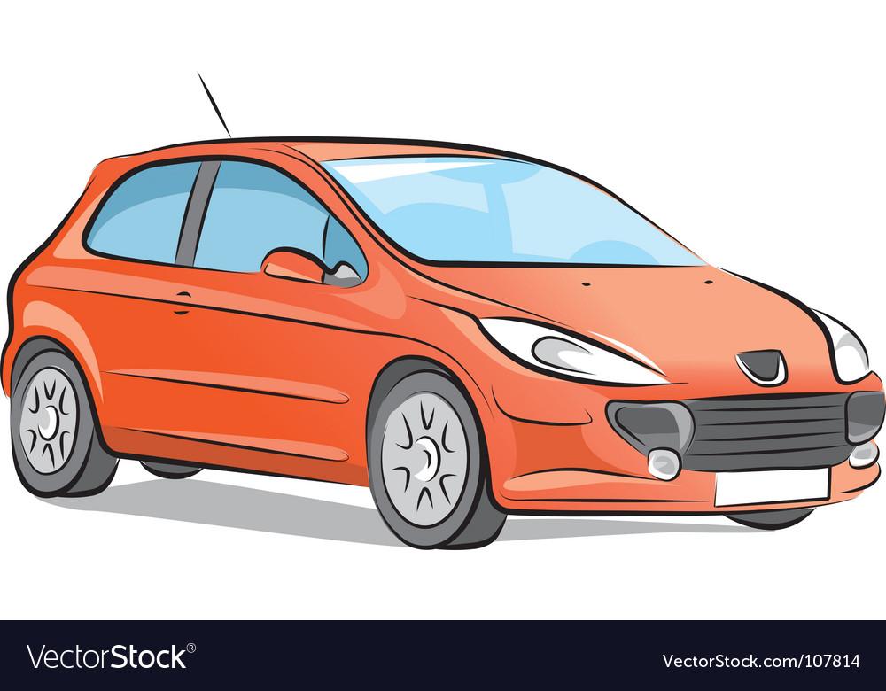 Car sketch vector | Price: 1 Credit (USD $1)