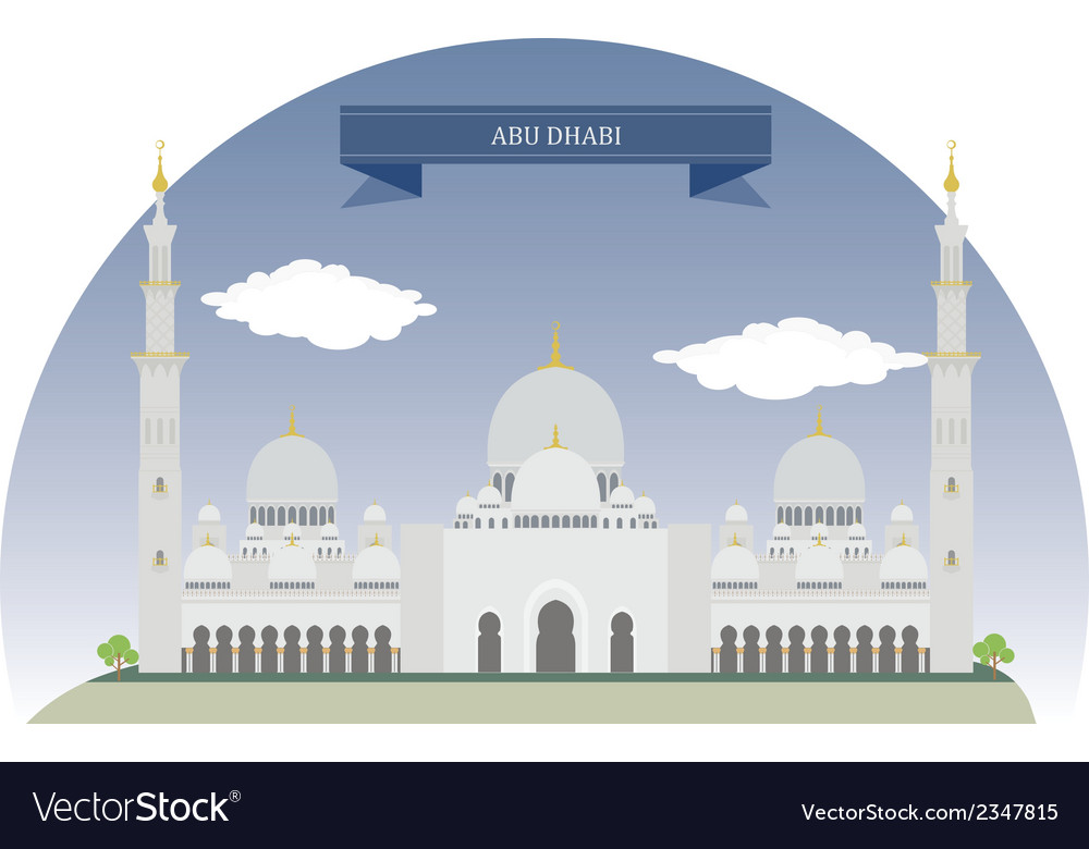 Abu dhabi vector | Price: 1 Credit (USD $1)