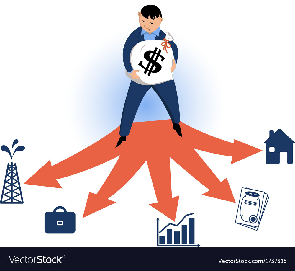 Choosing typles of investments vector | Price: 1 Credit (USD $1)