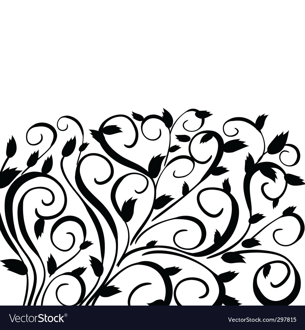 Hedgerow pattern vector | Price: 1 Credit (USD $1)