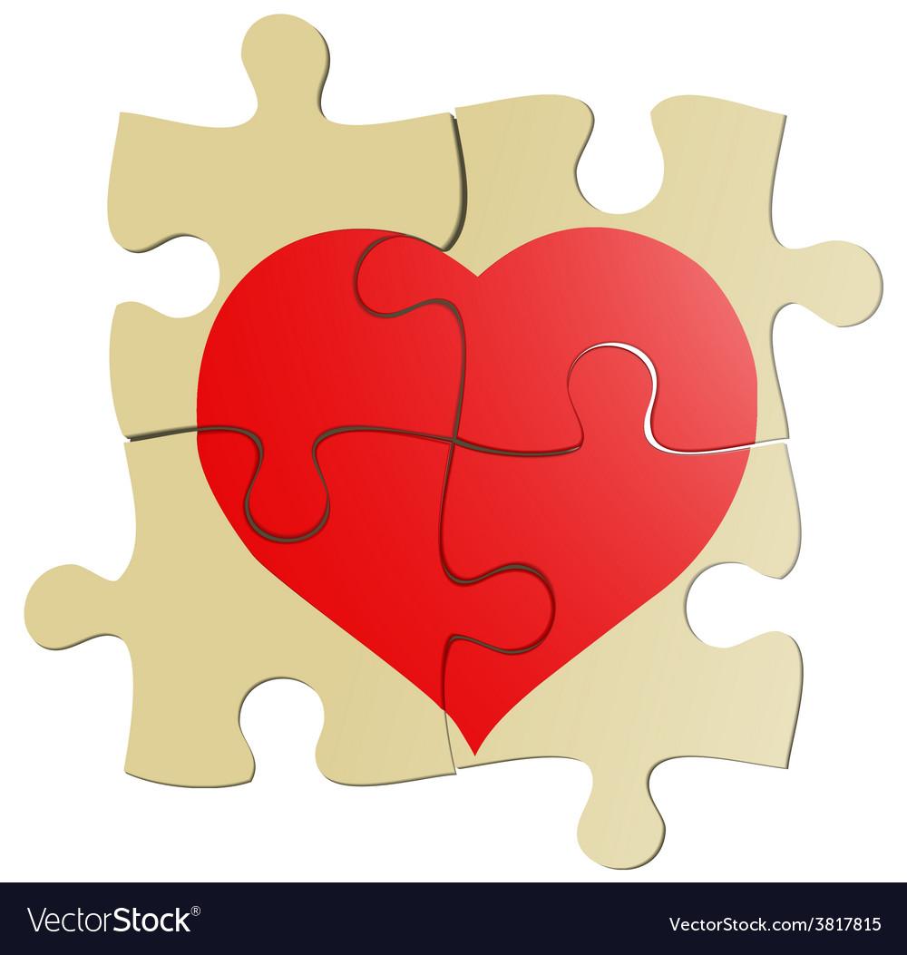 Valentine puzzle vector   Price: 1 Credit (USD $1)