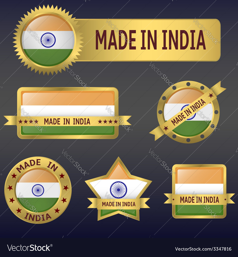 Made in india vector | Price: 3 Credit (USD $3)