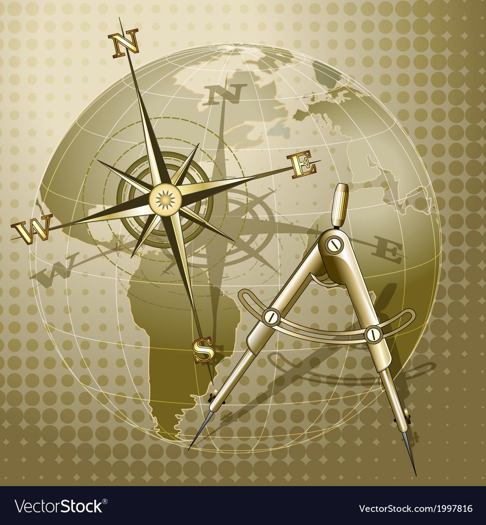 Retro navigation vector | Price: 1 Credit (USD $1)