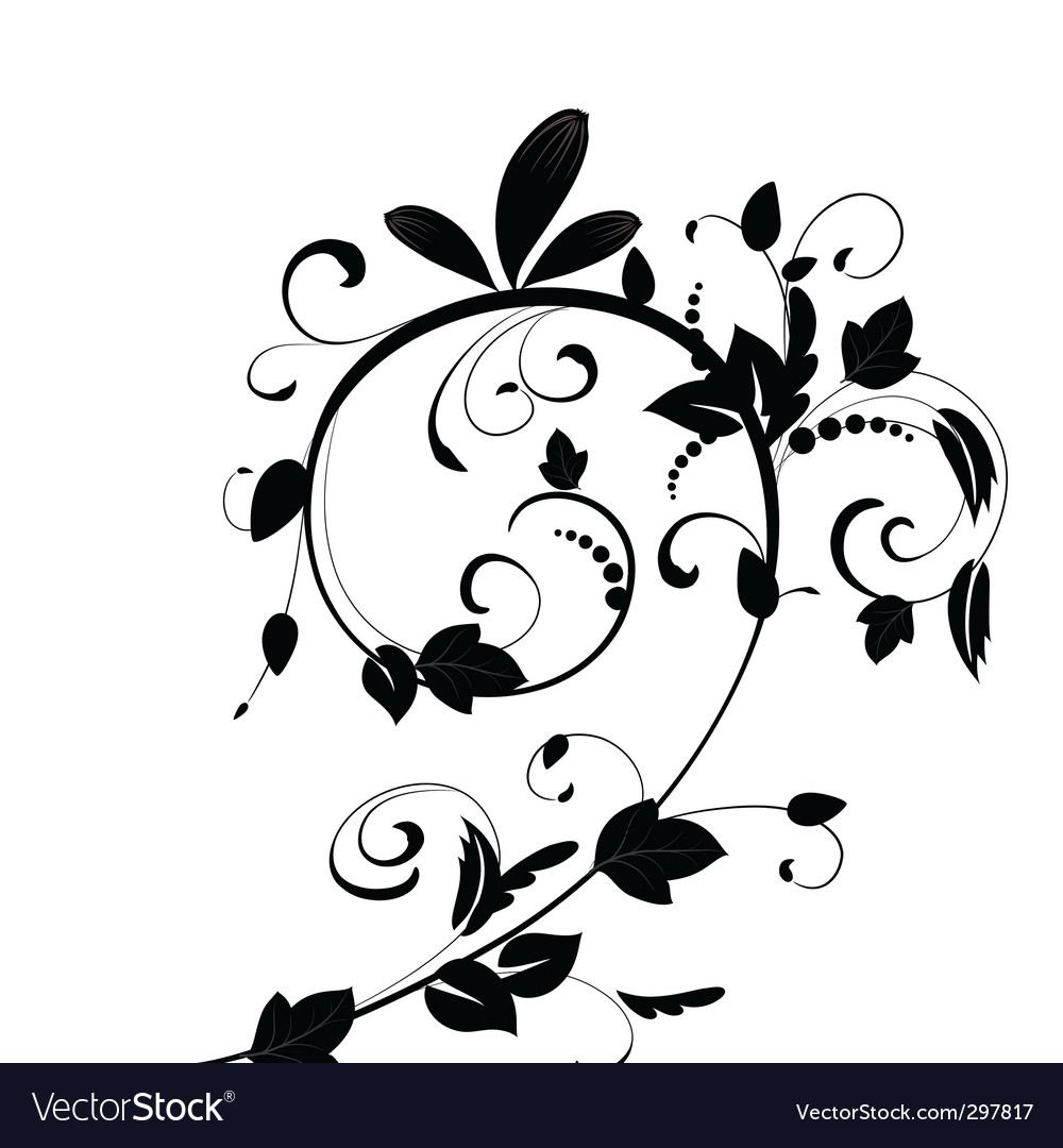 Plant whirlpool vector | Price: 1 Credit (USD $1)