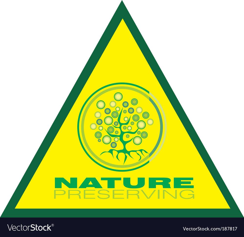 Tree preservation icon vector   Price: 3 Credit (USD $3)
