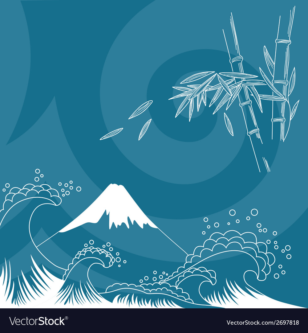 Japan style vector | Price: 1 Credit (USD $1)