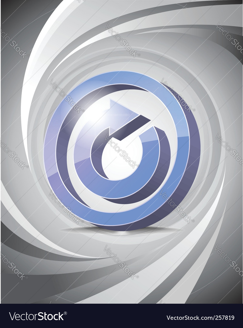 3d icon reload background vector   Price: 1 Credit (USD $1)