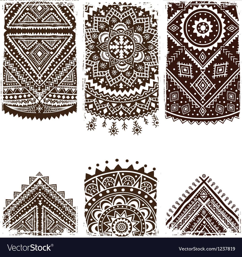 Beautiful indian ornament vector | Price: 1 Credit (USD $1)