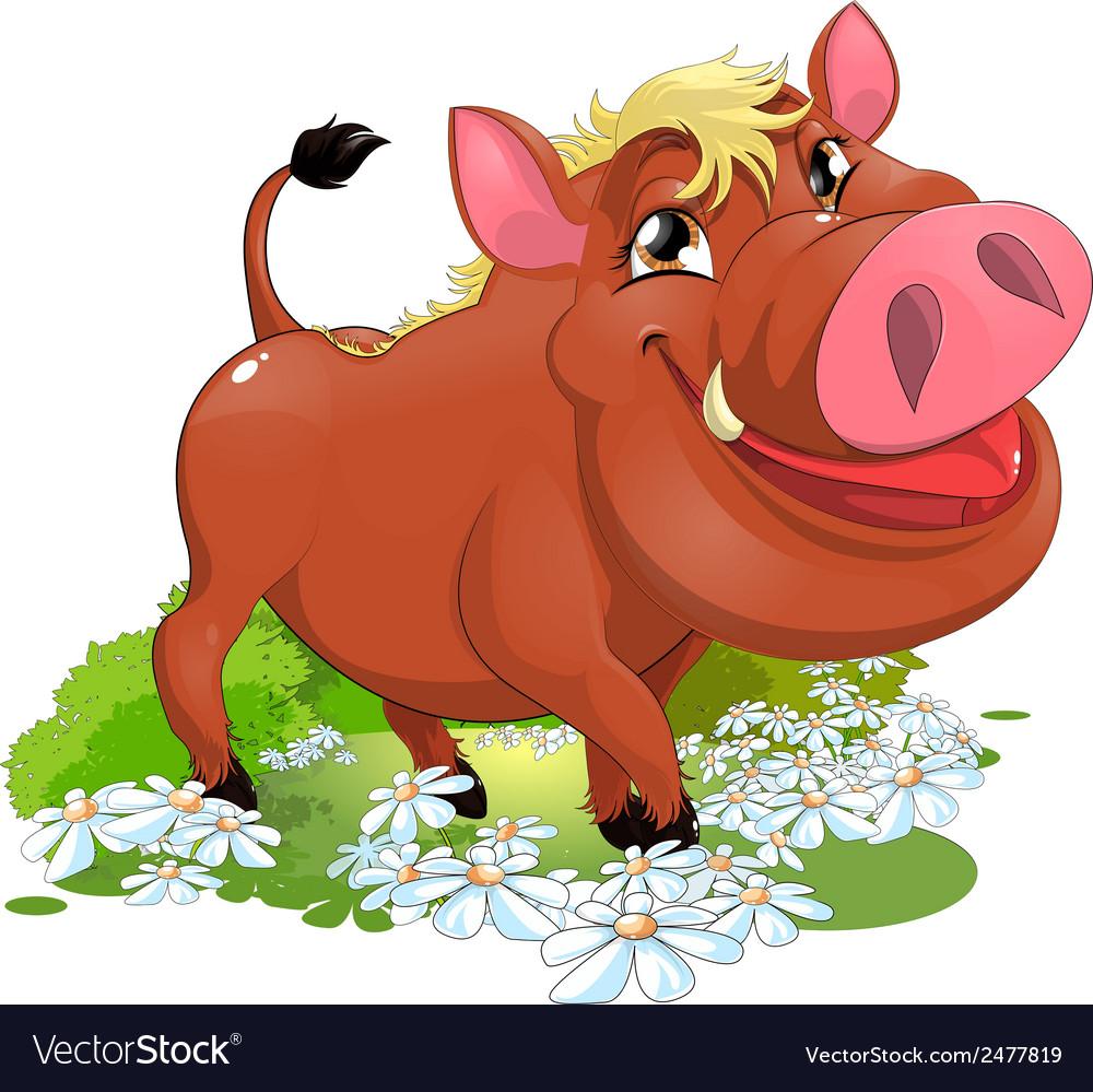 Boar vector | Price: 1 Credit (USD $1)