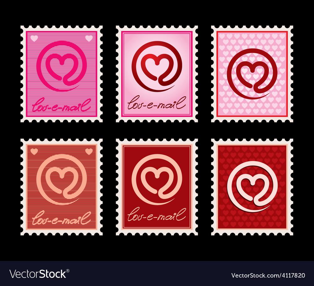 Lov e mail vector | Price: 1 Credit (USD $1)