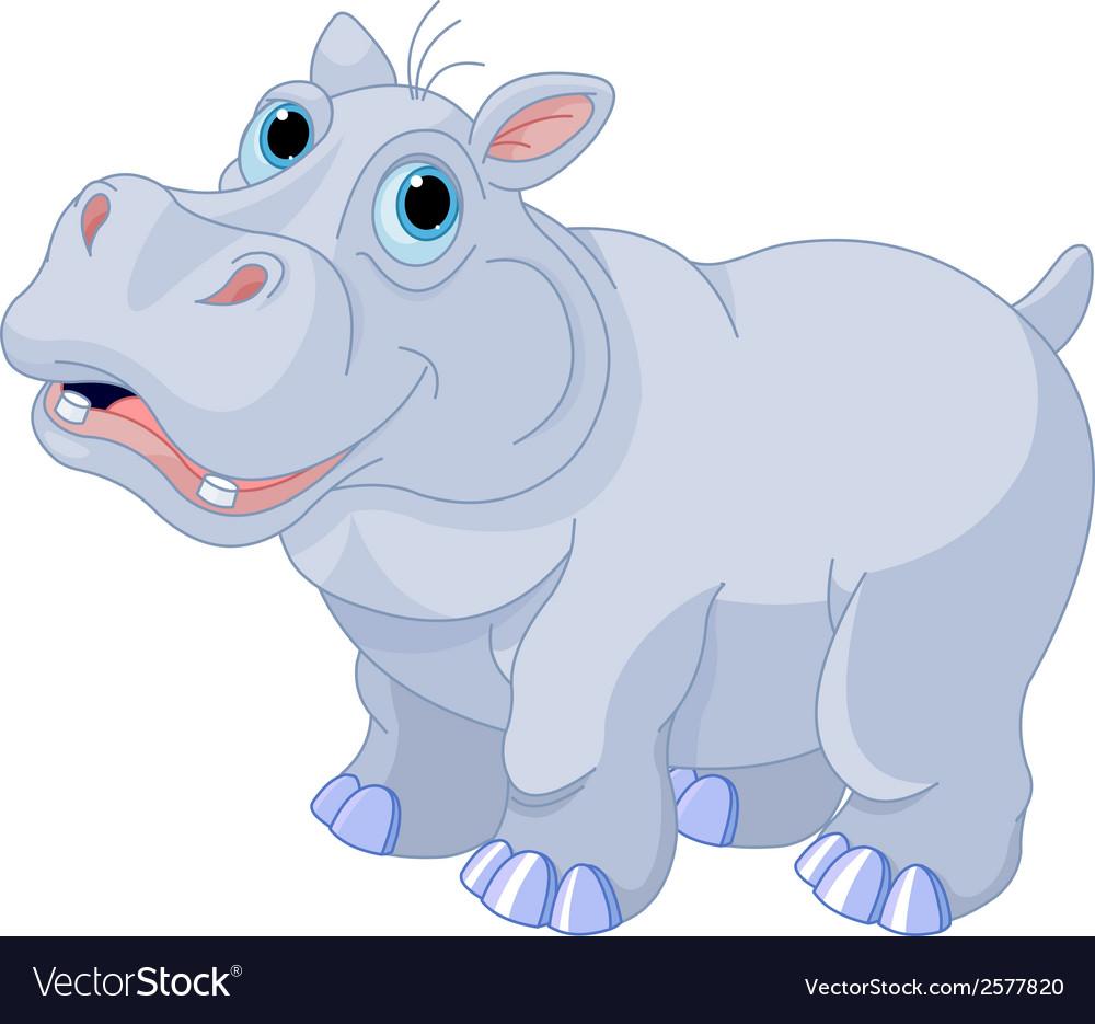 Mischievous hippo vector | Price: 1 Credit (USD $1)