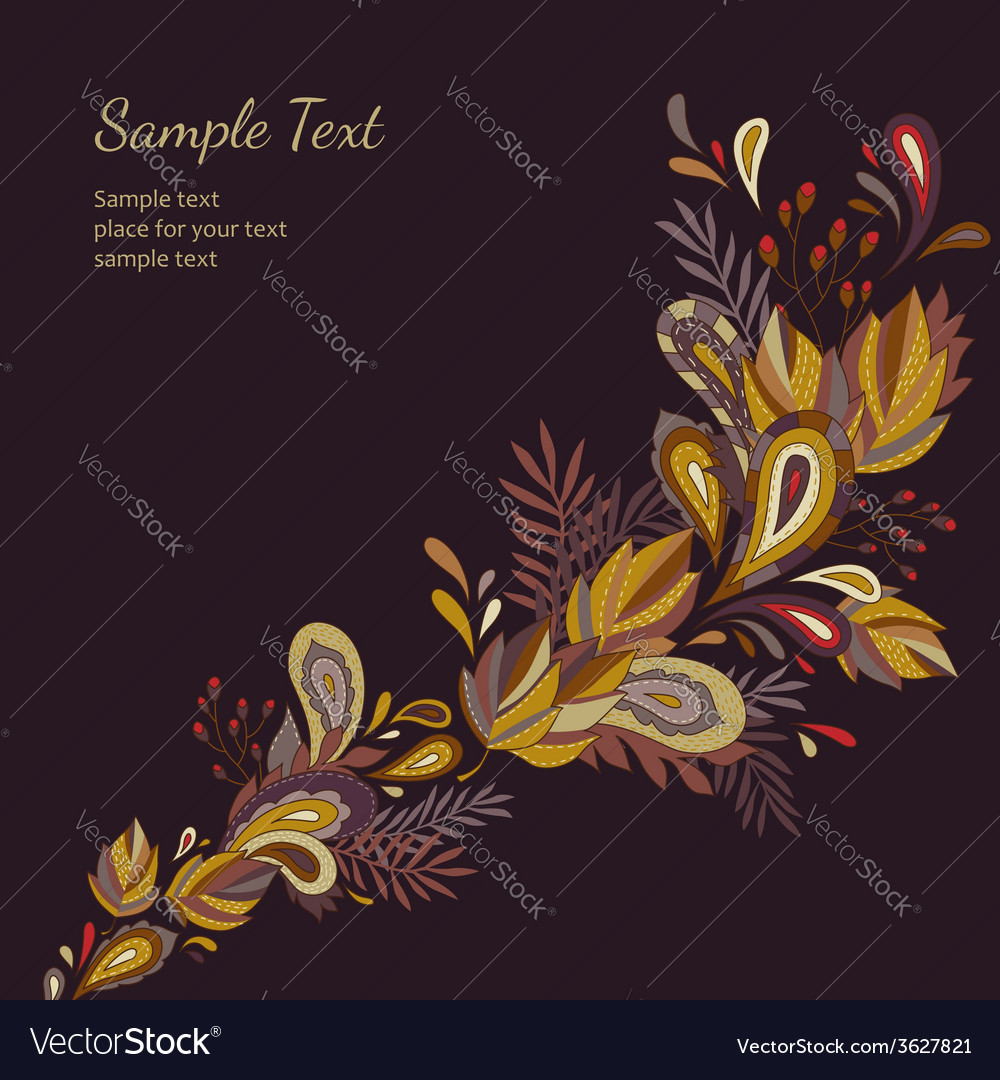 Background autumn leaves vector | Price: 1 Credit (USD $1)