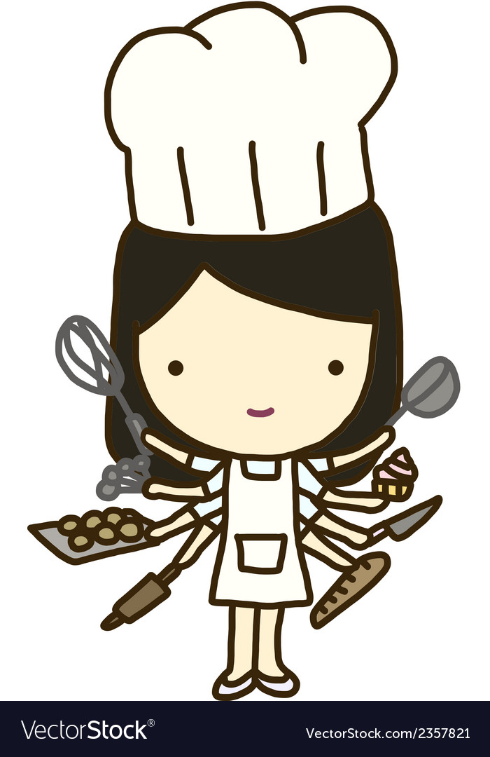 Baker goddess vector | Price: 1 Credit (USD $1)