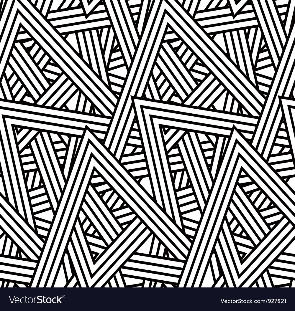 Stripe triangle pattern vector | Price: 1 Credit (USD $1)