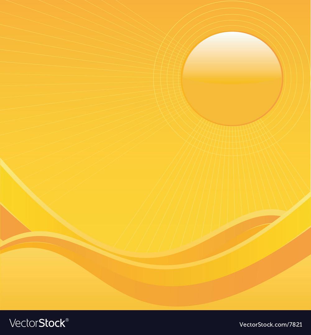 Summer sun vector | Price: 1 Credit (USD $1)