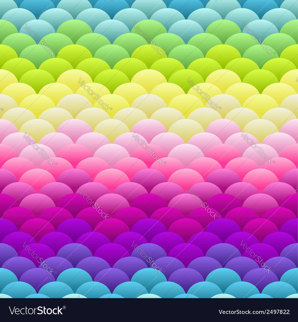 Neon rainbow light blobs seamless background vector | Price: 1 Credit (USD $1)