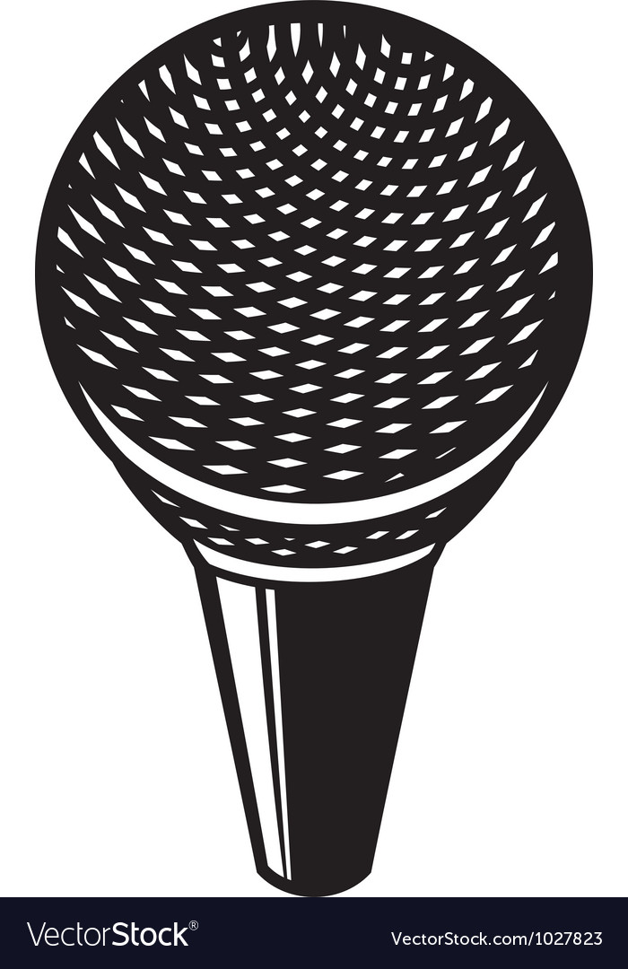 Classic microphone vector   Price: 1 Credit (USD $1)