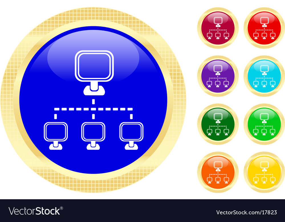 Networking icon vector | Price: 1 Credit (USD $1)