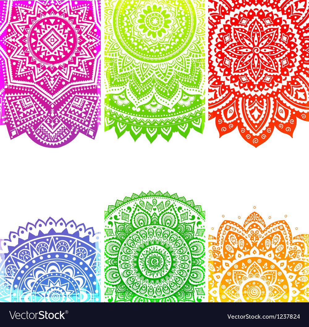 Beautiful indian ornament vector | Price: 1 Credit (USD $1)