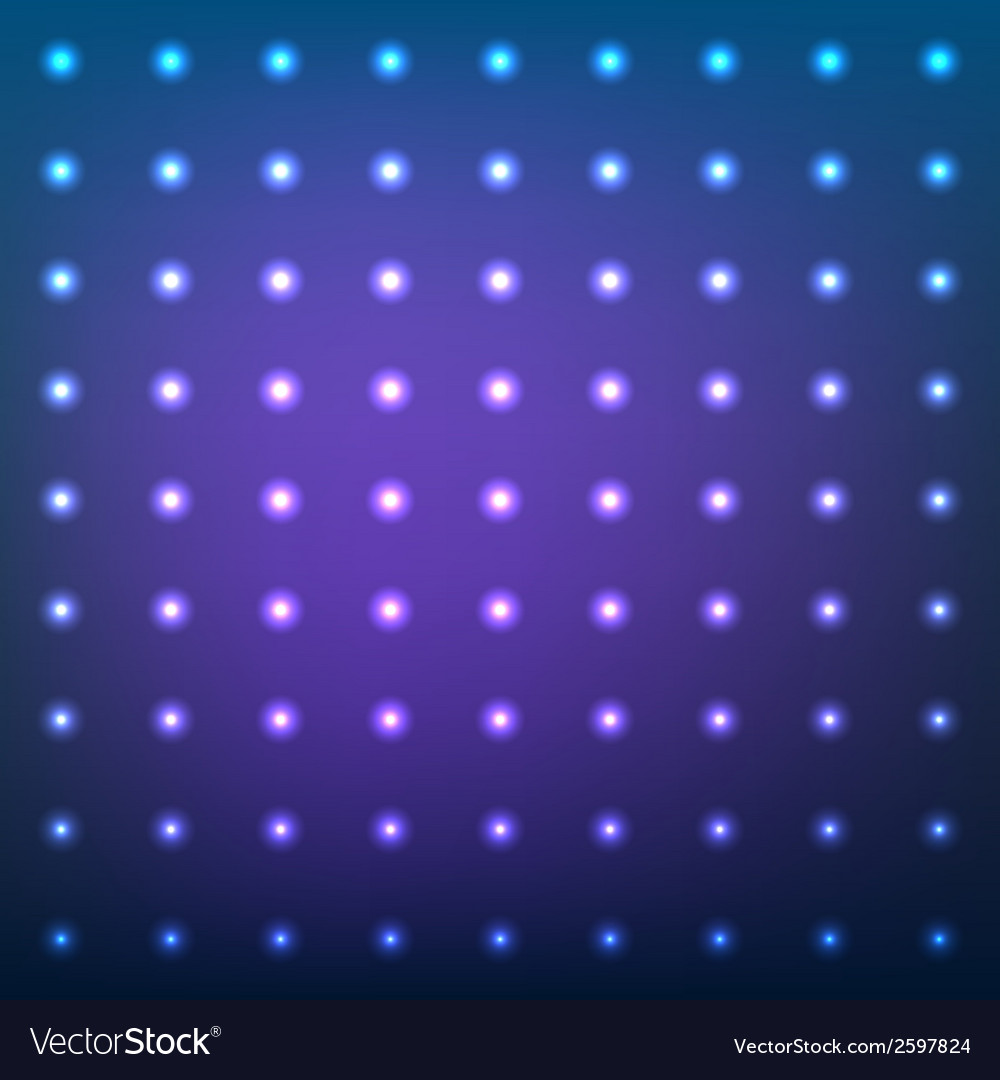 Blue abstract background with lens flare dotted vector | Price: 1 Credit (USD $1)