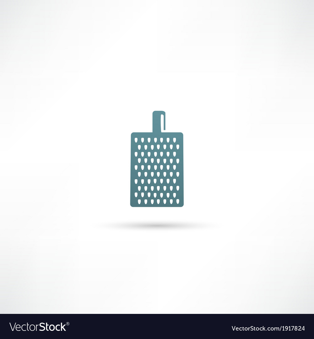 Grater for vegetables and fruits icon vector | Price: 1 Credit (USD $1)