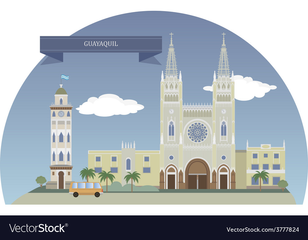 Guayaquil vector | Price: 3 Credit (USD $3)