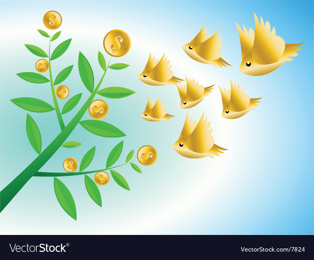 Money growth vector | Price: 3 Credit (USD $3)