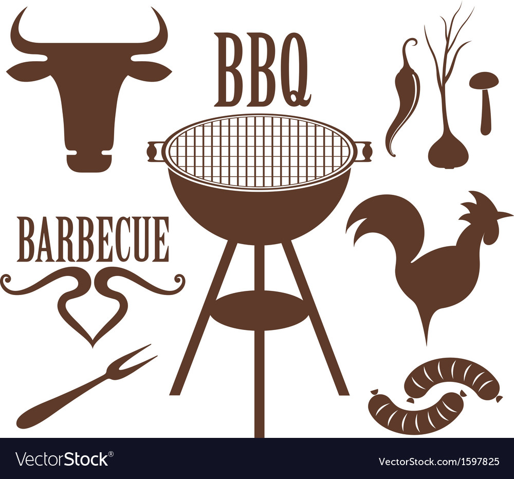 Barbecue grill vector | Price: 1 Credit (USD $1)
