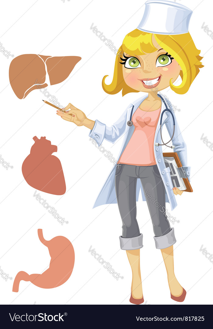 Nurse or doctor vector | Price: 3 Credit (USD $3)