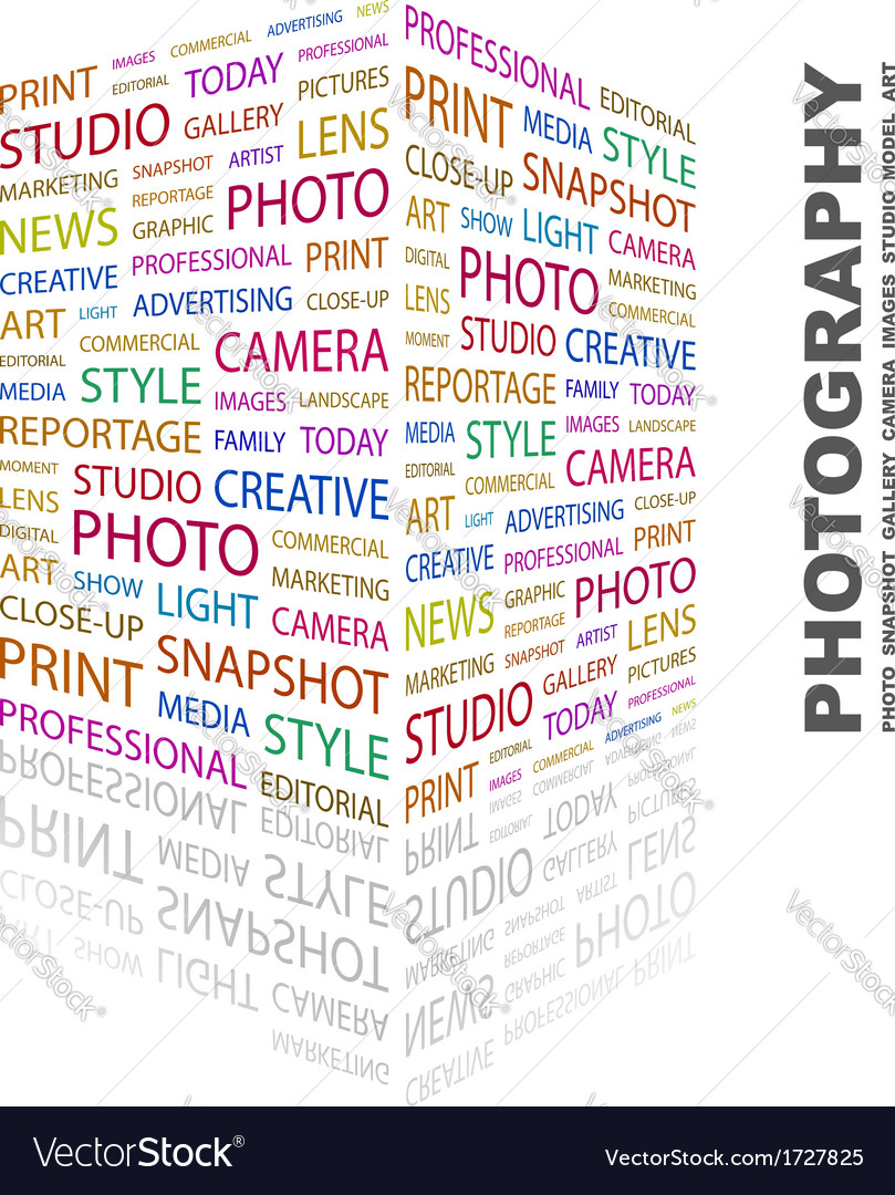 Photography vector | Price: 1 Credit (USD $1)
