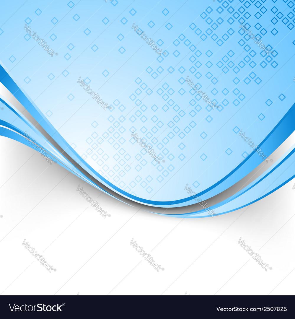 Bright technical blue folder template vector | Price: 1 Credit (USD $1)