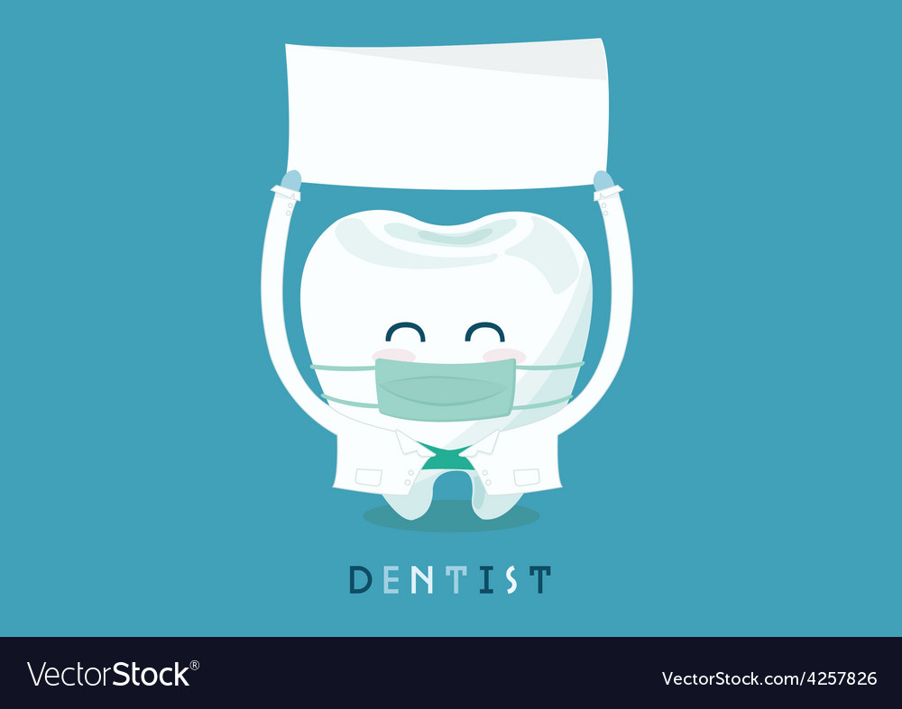 Dentist write here vector | Price: 3 Credit (USD $3)