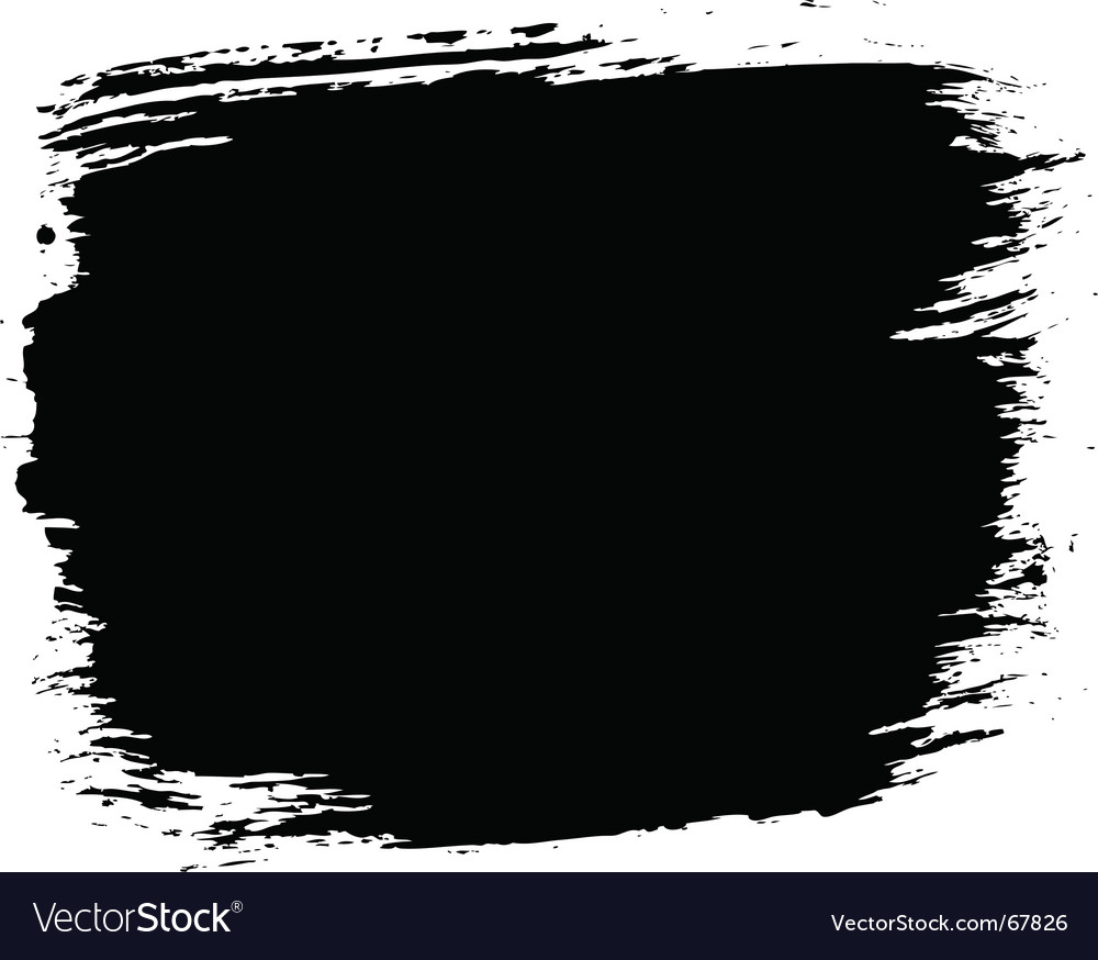 Grunge paint block vector | Price: 1 Credit (USD $1)