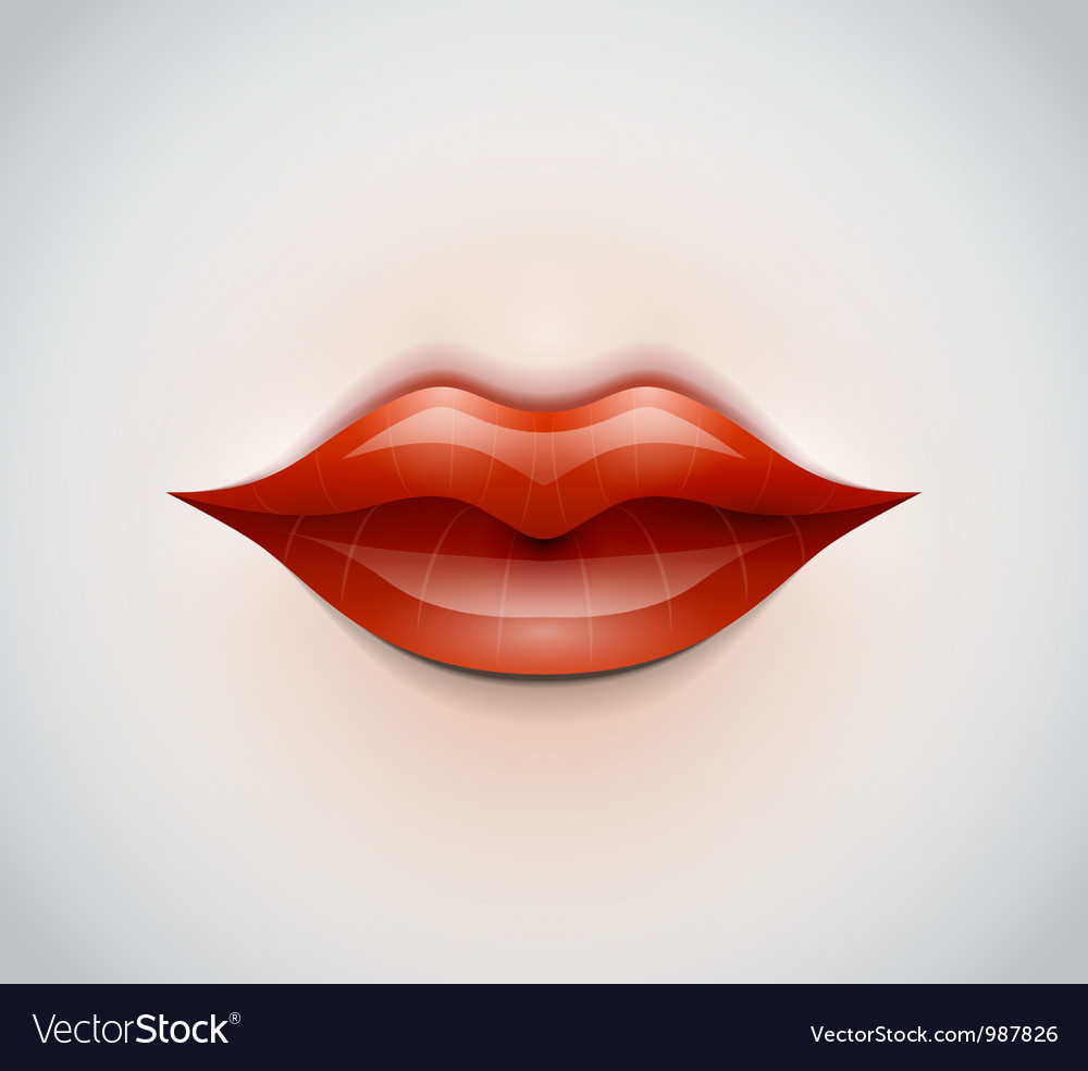 Lips background vector | Price: 1 Credit (USD $1)