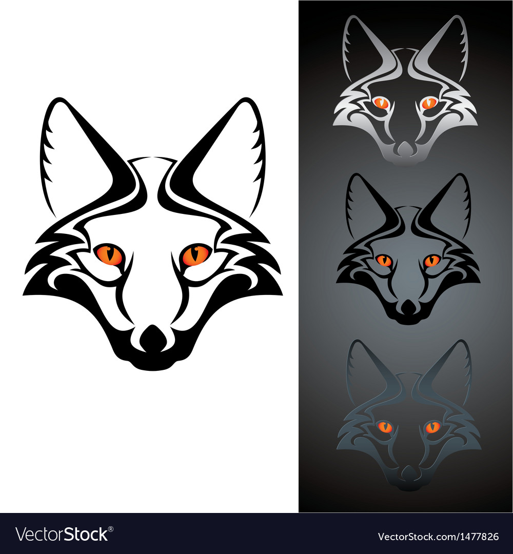 Logo fox 1 vector | Price: 1 Credit (USD $1)