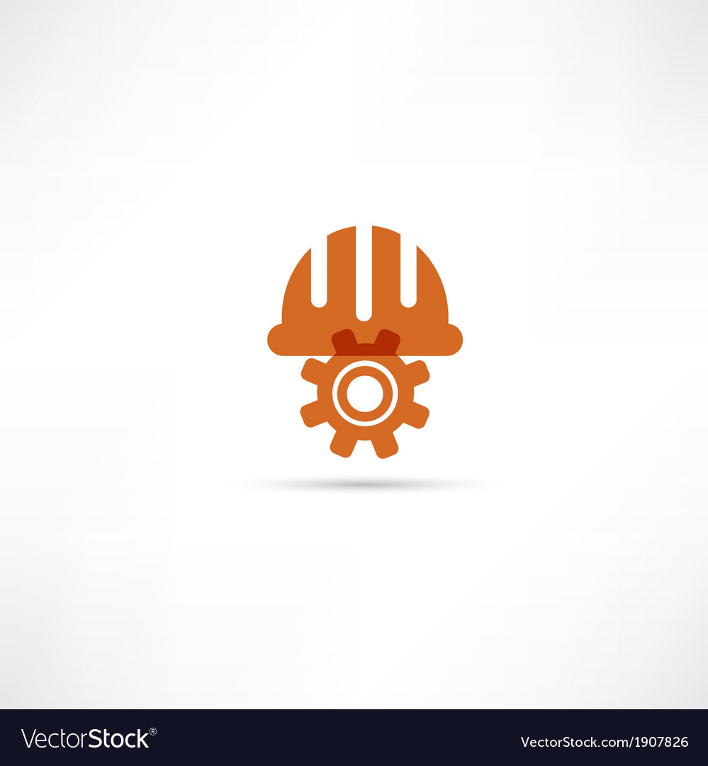 Orange setting buttons icon vector | Price: 1 Credit (USD $1)