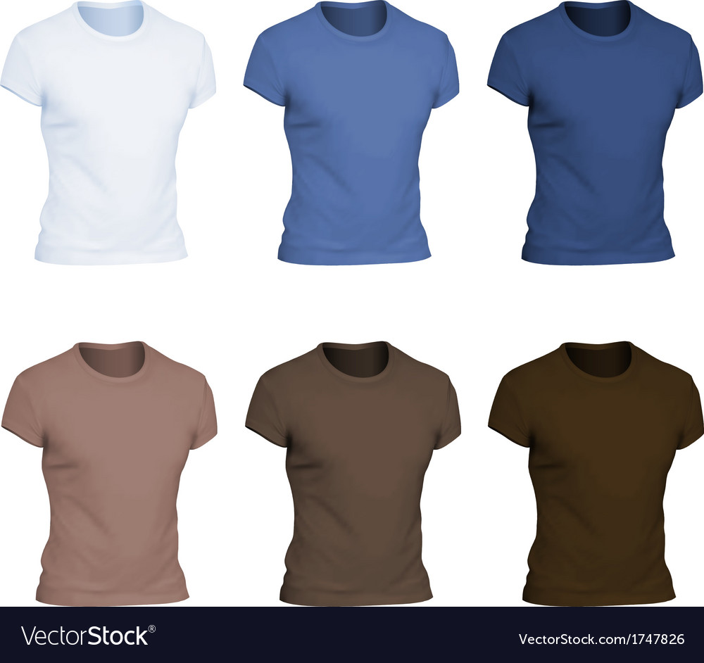 Plain t-shirt template vector | Price: 1 Credit (USD $1)