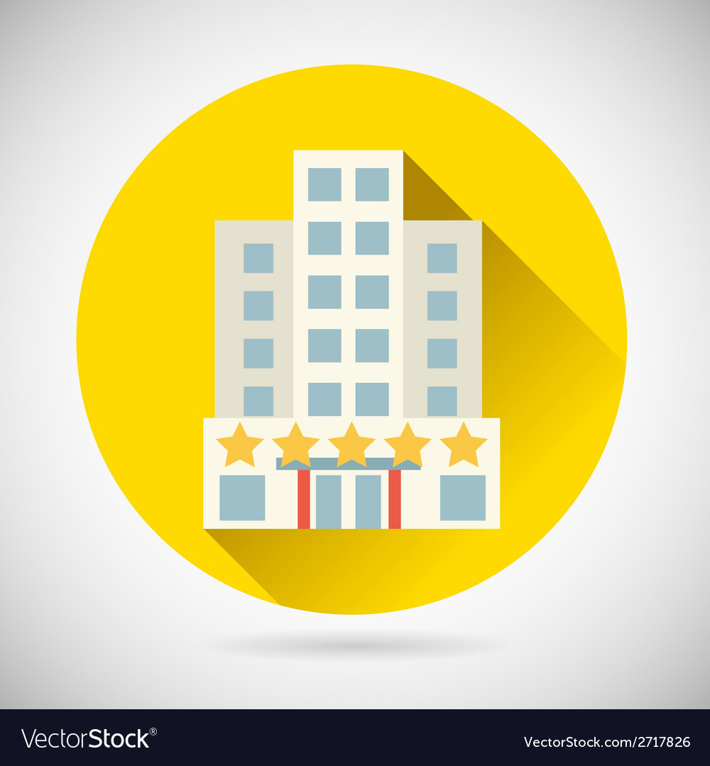 World trip symbol best star hotel inn rest icon on vector | Price: 1 Credit (USD $1)