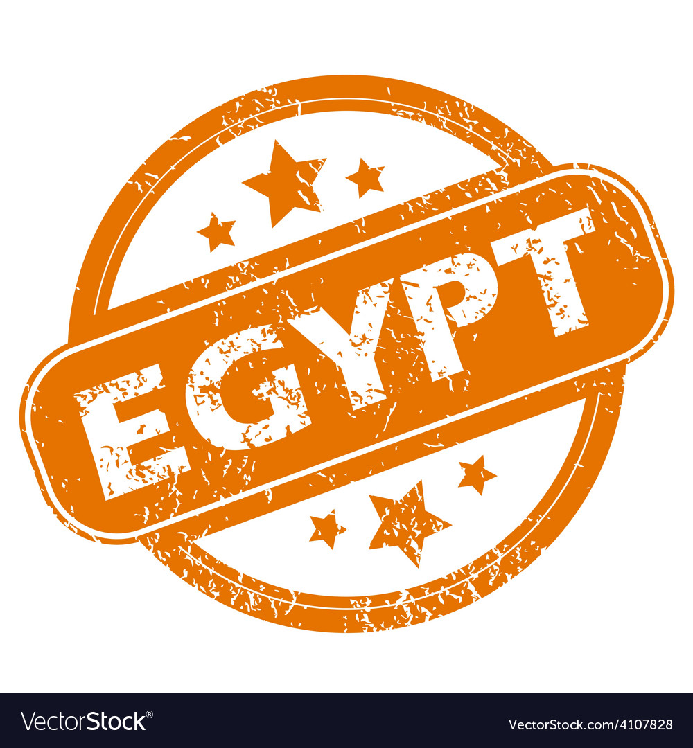 Egypt grunge icon vector | Price: 1 Credit (USD $1)