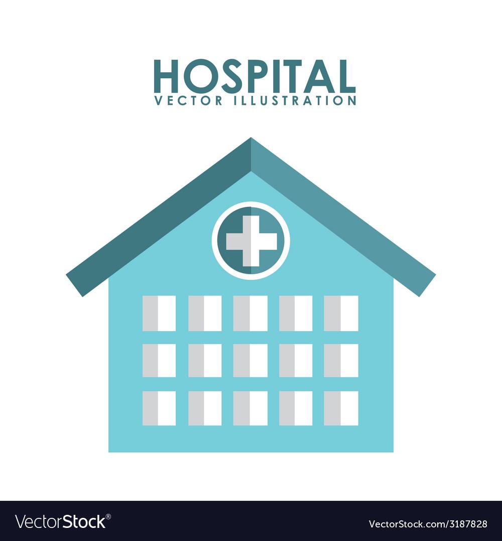 Hospital design vector | Price: 1 Credit (USD $1)