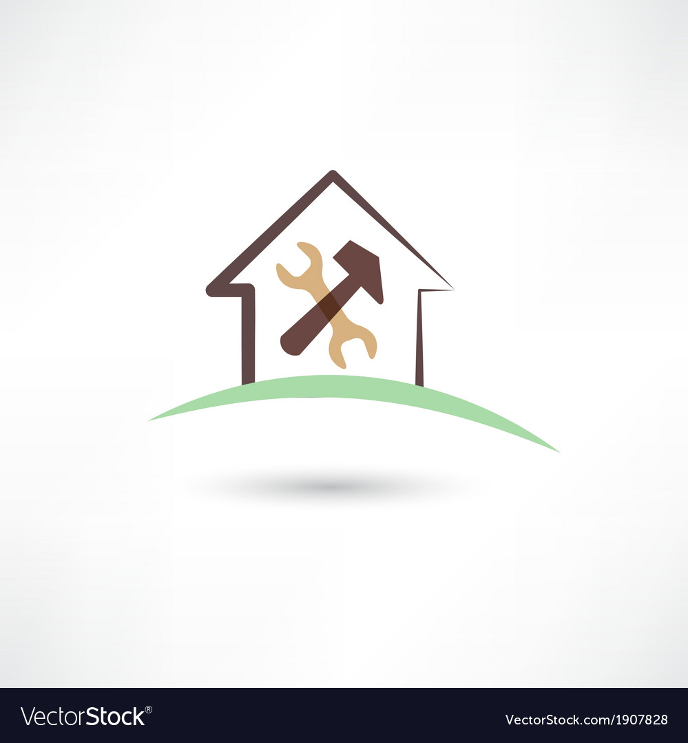House repairing vector | Price: 1 Credit (USD $1)