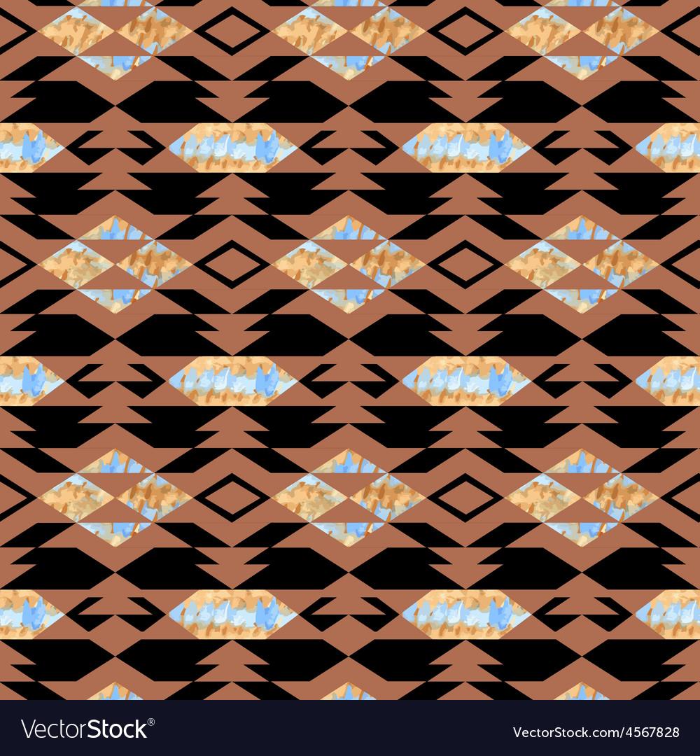 Navajo aztec textile inspiration pattern native vector | Price: 1 Credit (USD $1)
