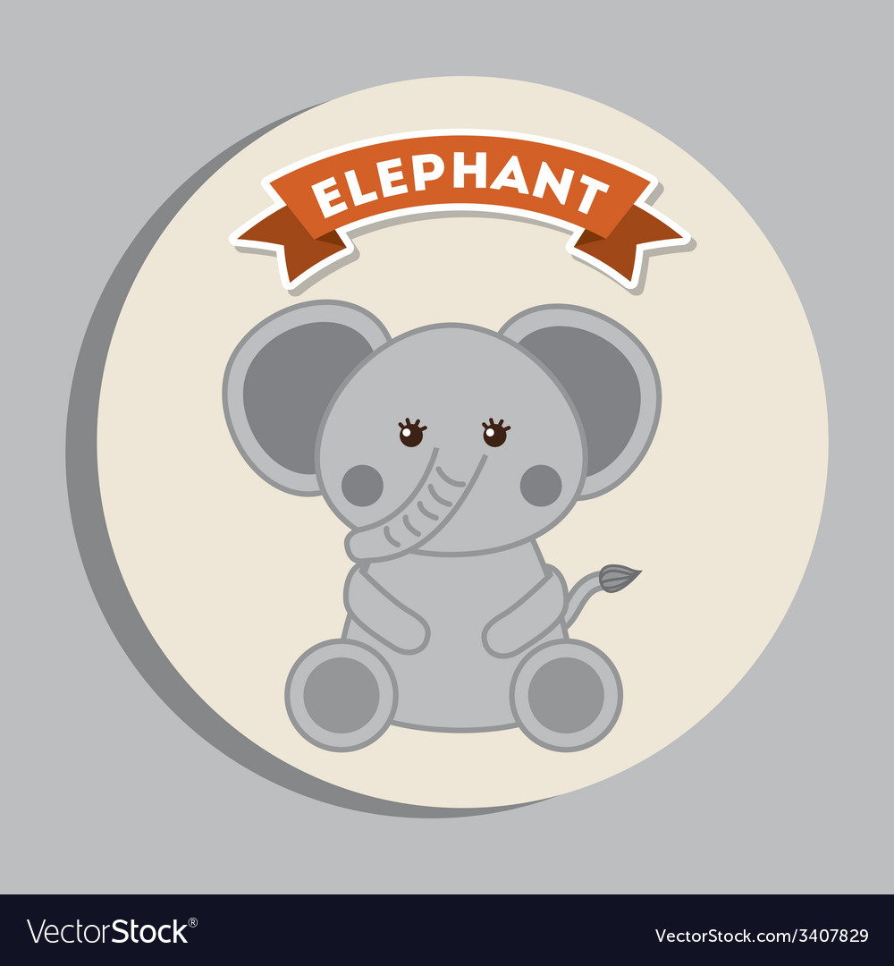 Animal cute design vector | Price: 1 Credit (USD $1)