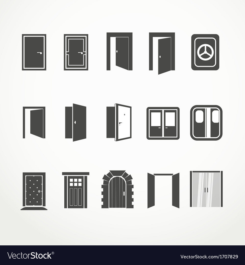 Doors vector | Price: 1 Credit (USD $1)