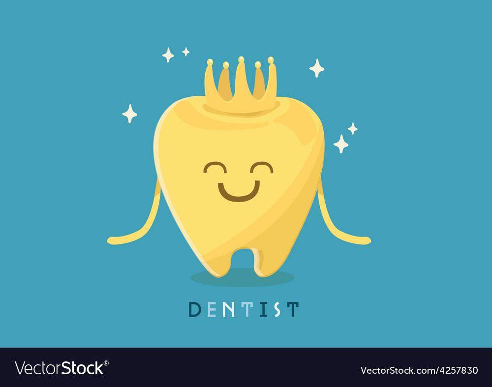 Dental crown vector | Price: 3 Credit (USD $3)